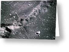 The Moon From Apollo 14 Greeting Card