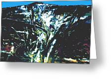The Mount Sinjajevina Greeting Card
