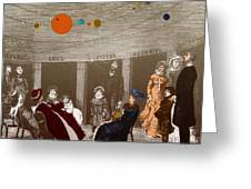 The New Planetarium In Paris, 1880 Greeting Card