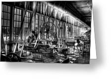 The Red Barn Of The Boeing Company Iv Greeting Card
