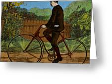 The Rover Bicycle Greeting Card by Science Source