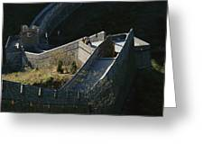 The Simatai Section Of The Great Wall Greeting Card