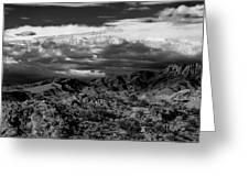 The Sky Speaks Greeting Card