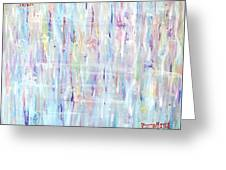 The Sounds Of Rain Greeting Card