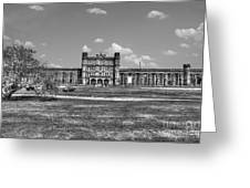 The West Virginia State Penitentiary Front Greeting Card