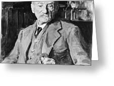 Thomas Hardy (1840-1928) Greeting Card