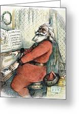 Thomas Nast: Santa Claus Greeting Card