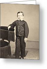 Thomas Tad Lincoln Greeting Card
