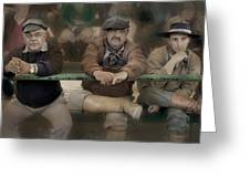 Three Gauchos Greeting Card