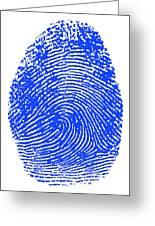 Thumbprint Greeting Card