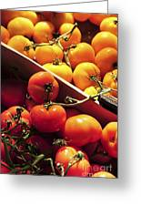Tomatoes On The Market Greeting Card by Elena Elisseeva