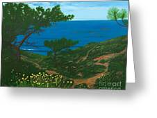 Torrey Pines Trails Greeting Card