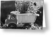 Toy Truck Planter Greeting Card