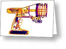 Toy Vortex Gun Greeting Card