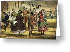 Trade Card, C1880 Greeting Card