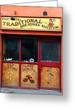Traditional Ireland Greeting Card