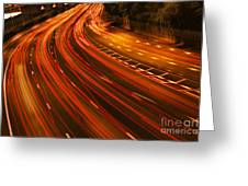 Traffic River Greeting Card