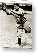Tris Speaker (1888-1958) Greeting Card