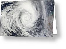 Tropical Cyclone Dianne Greeting Card