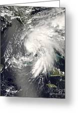 Tropical Storm Fay Greeting Card