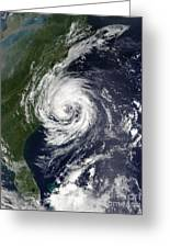 Tropical Storm Gustav Greeting Card