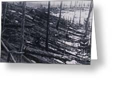 Tunguska Event, 1908 Greeting Card