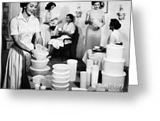 Tupperware Party, 1950s Greeting Card