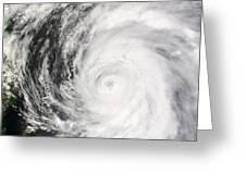 Typhoon Man-yi Greeting Card