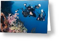 Underwater Photography Greeting Card