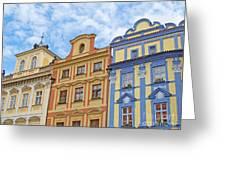 Uniquely Prague Greeting Card