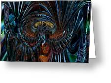 Unspeakable Beauty Fx  Greeting Card
