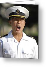 U.s. Naval Academy Midshipmen Greeting Card