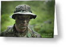 U.s. Special Forces Soldier Greeting Card