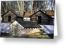 Valley Forge Winter Greeting Card