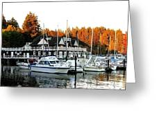 Vancouver Rowing Club Greeting Card