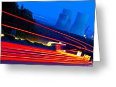 Velocity Greeting Card by Thomas Splietker
