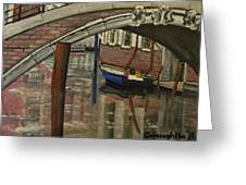 Venice Bridge Greeting Card