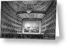 Venice: Teatro La Fenice Greeting Card