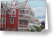 Victorian Afternoon Cape May Greeting Card