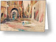 Vieille Rue Du Caire 3 Greeting Card