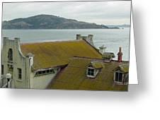 View From Alcatraz II Greeting Card