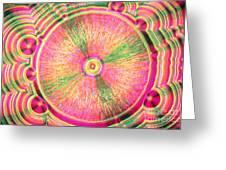 Vitamin C Crystal Greeting Card