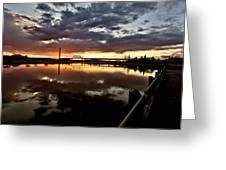 Wakamaw Valley Sunrise Greeting Card