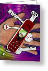 Wap Mobile Telephone Greeting Card