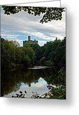 Warkworth Castle Greeting Card