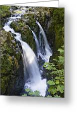Waterfalls Of Sol Duc River, Olympic Greeting Card