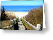 Way To The Bay Greeting Card