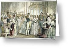 Wedding Of Queen Victoria Greeting Card
