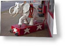 White Elephant Greeting Card
