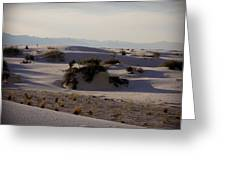 White Sands 1 Greeting Card